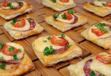 Chorizo kaas tomaat hapjes